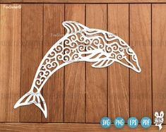Dolphin Svg, Fish Svg, Dolphin Clipart, Sea Svg, Water Svg   Dolphin Cut File   Dolphins Svg   Animal Svg, Fish Cut File, Cute Svg, Original