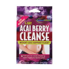 5 Day Acai Berry Cleanse