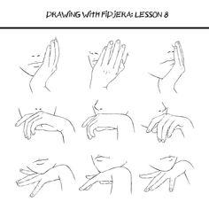 턱을 괴고 있는 손 그리기 참고 자료.  [http://artist-refs.tumblr.com/post/112357876256/drawing-with-fidjera-lesson-8-by-fidjera…]