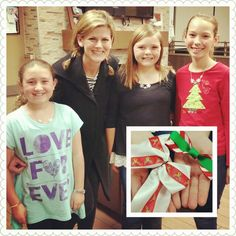 4 young entrepreneurs started Bowtastic Bows and now on a mission to raise funds for Enchanted Makeovers.#love