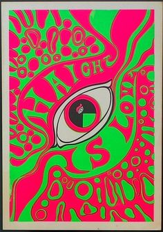 13th FLOOR ELEVATORS Hippy HAIGHT ASHBURY Psychedelic Poster 1960's Original | eBay