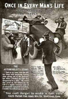 Colt Firearms Ad (1917).