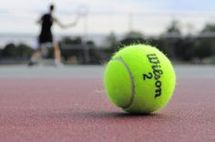 This is a simple example of rule of thirds. The ball is off center from the center of the picture.  John Kearney p6