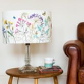 Embroidered 'Floral' Lampshade