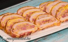 Recept: Tökéletes ünnepi menü, amit már most ments el! Bacon, Recipies, Pork, Xmas, Recipes, Pork Roulade, Yule, Navidad, Rezepte
