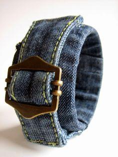 Rosely Pignataro: Reciclando seu velho jeans.