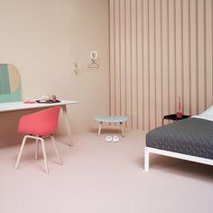 Hay - Loop Bett - Ambientebild Studiokulisse