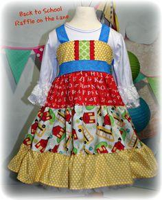 Back to school dress - RTS Schoolhouse Dress - GBL Originals