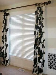 Table cloths as affordable curtains