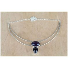 Superb Black Onyx Necklace For Sale via Polyvore featuring jewelry, necklaces, black onyx jewelry and black onyx necklace