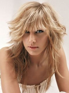 14 cute and effortless long layered haircuts with bangs for inspiration page 5 Choppy Layers For Long Hair, Medium Length Hair Cuts With Layers, Layered Haircuts With Bangs, Bangs With Medium Hair, Layered Bob Hairstyles, Straight Hair, New Long Hairstyles, Hairstyles With Bangs, Hair Styles 2014