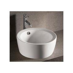 Found it at Wayfair - Isabella Circular Vessel Bathroom Sink with Overflow