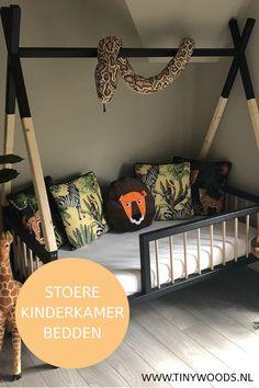 Boys Jungle Bedroom, Safari Kids Rooms, Boy Toddler Bedroom, Kids Bedroom, Cool Boys Room, Boy Room, Toddler House Bed, Chill Room, Bedroom Themes
