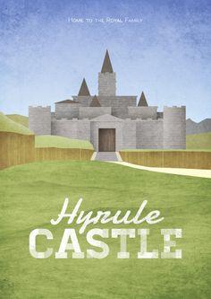 Hyrulean Travel - Postcards inspired by Legend of Zelda series