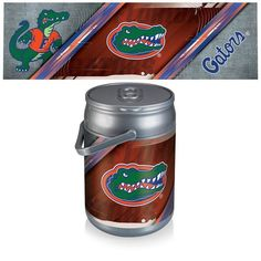 Can Cooler   Silver/Gray (University Of Florida   Gators) Digital Print