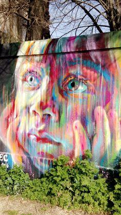 Street art enfant