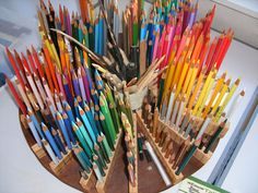DIY Colored Pencil Holder