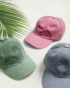 The J.Crew men's garment-dyed hat. Made in LA and garment-dyed for highs and lows of color at the seams, this hat is as essential to Spring and Summer as a rum drink on a backyard porch.