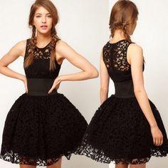 robe originale mode 2014 noire