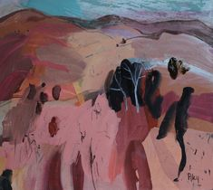 Hill and Dale Australian Art, Abstract Landscape, Riley Riley, A5, Painting, Instagram, Board, Kunst, Painting Art