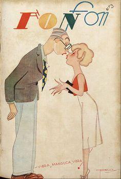 J. CARLOS  Fon Fon, 1936.
