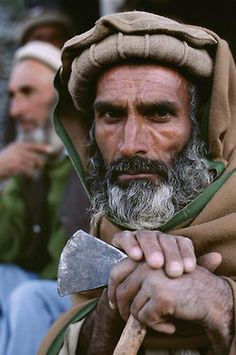 Portraits of Nuristan province, #Afghanistan.   Photographs by Steve McCurry.