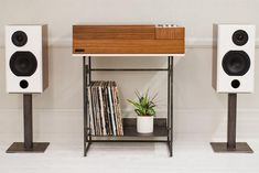 """via Wrensilva Loft console combines a turntable with Sonos streaming 