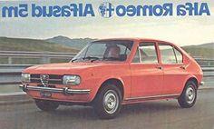 1977 Alfa Romeo Alfasud 5M Sales Brochure Italian