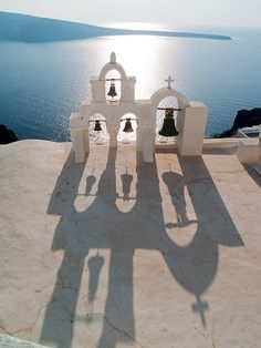 Santorini, Greece -- love the composition of this one