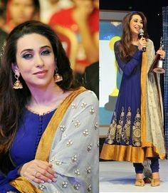 Fashion: Karishma Kapoor in Bollywood Designer Outfits