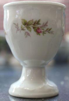 Rosenthal Sanssouci Moss Rose Egg Cup Sanssouchi Shape Moss Rose Pattern Egg Cup