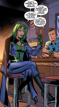 Lorna Dane aka Polaris in X-Factor Marvel Comic Character, Comic Book Characters, Marvel Characters, Comic Books Art, Comic Art, Marvel Heroines, Marvel Comics, Marvel Comic Universe, Comics Universe