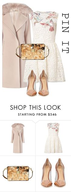 """""""Dress"""" by sara12alexandra ❤ liked on Polyvore featuring Diane Von Furstenberg, RED Valentino, Dolce&Gabbana and Gianvito Rossi"""
