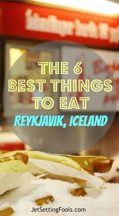 Due to the isolation and harsh winters of an island nation, the national cuisine in Iceland ranges from fairly basic and expected to creative and downright strange. The remoteness also makes it outrageously expensive. We attempted to keep our budget in check and still get a taste of Iceland cuisine and we think we succeeded in finding six of the best things to eat in Reykjavik, Iceland.