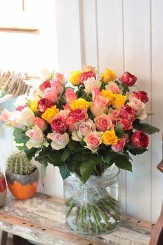 50本のバラブーケ/花束/花どうらく/花屋/http://www.hanadouraku.com/bouquet
