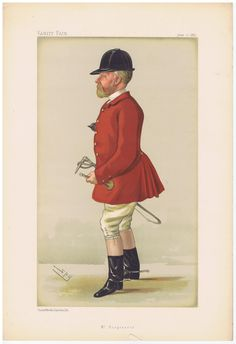 Date:  11-Jun-1887   The Vanity Fair Caricature of    Col. John. M.F.H.  Hargreaves  With the caption of  :  Mr. Hargreaves  By the artist:  SPY    Visit www.theakston-thomas.co.uk for many more Vanity Fair Prints, we have one of the largest collections in the world.