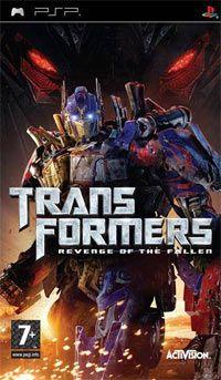 Transformers Revenge of the Fallen [PSP] ISO [MEGA]