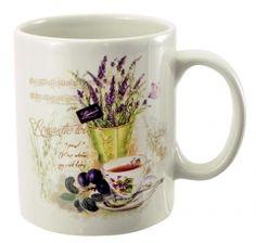 Keramický hrnček Lavender Lavender, Mugs, Tableware, Catalog, Dinnerware, Tumblers, Tablewares, Mug, Dishes