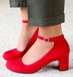 NARON RED :: SHOES :: CHIE MIHARA SHOP ONLINE