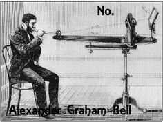 """Final words of Alexander Graham Bell, while Alexander lay dying his deaf wife whispered to him """"Don't leave me"""" he responded by signing a single word back to her."""