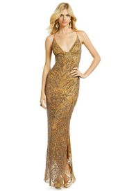 """Drop Dead Gold Gorgeous Gown: I think this might be the """"It"""" gown for marine corp ball"""