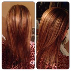 Brown Root TouchUp w/ Highlights
