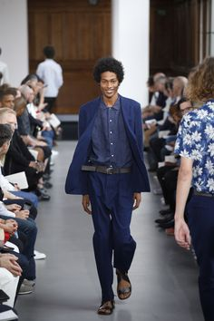 Officine Generale Spring 2017 Menswear Collection Photos - Vogue