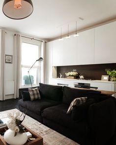 Английская двухкомнатная квартира: современная классика в малогабаритном помещении