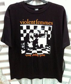 Violent Femmes Official 'Gone Daddy Gone' Men's 100 Cotton T Shirt $34 99RRP | eBay