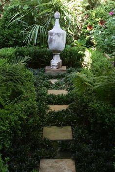 ** Courtyard garden