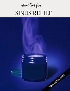Effective Natural Remedies For Sinus Relief