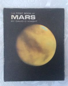 The first book of mars #david c knight #hardback d/j vintage #astronomy book,  View more on the LINK: 	http://www.zeppy.io/product/gb/2/231710515663/