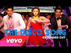 Student Of The Year - The Disco Song Video   Alia Sidharth Varun - Katie, for our next episode of music video workouts :)