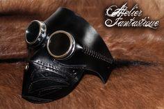 Steampunk goggles leather mask Arakis by AtelierFantastique.deviantart.com on @DeviantArt. #steampunk #victorian #gosstudio  . (Best Gifts online: http://www.zazzle.com/vintagestylestudio)